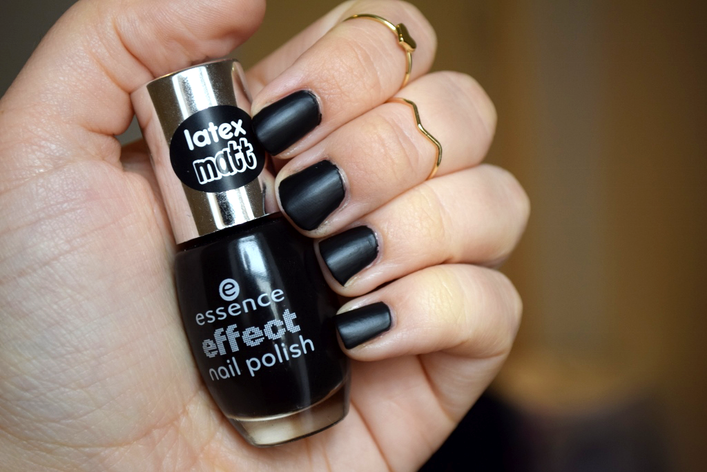 Essence Latex Matt Effect Nail Polish Review