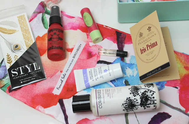 A picture of French Sole June 2015 Birchbox UK