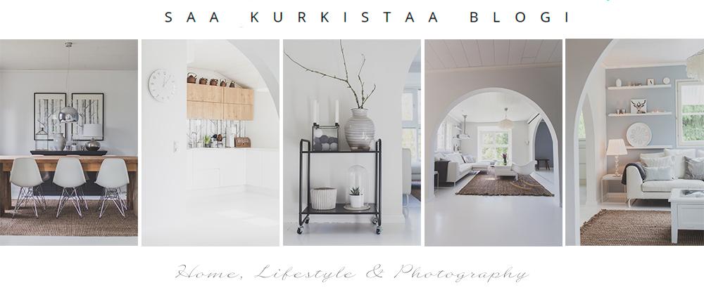 Saa Kurkistaa - Sisustusblogi