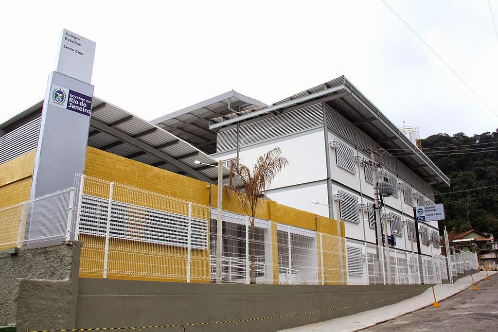 Pezão inaugura Colégio Lions Club em Teresópolis