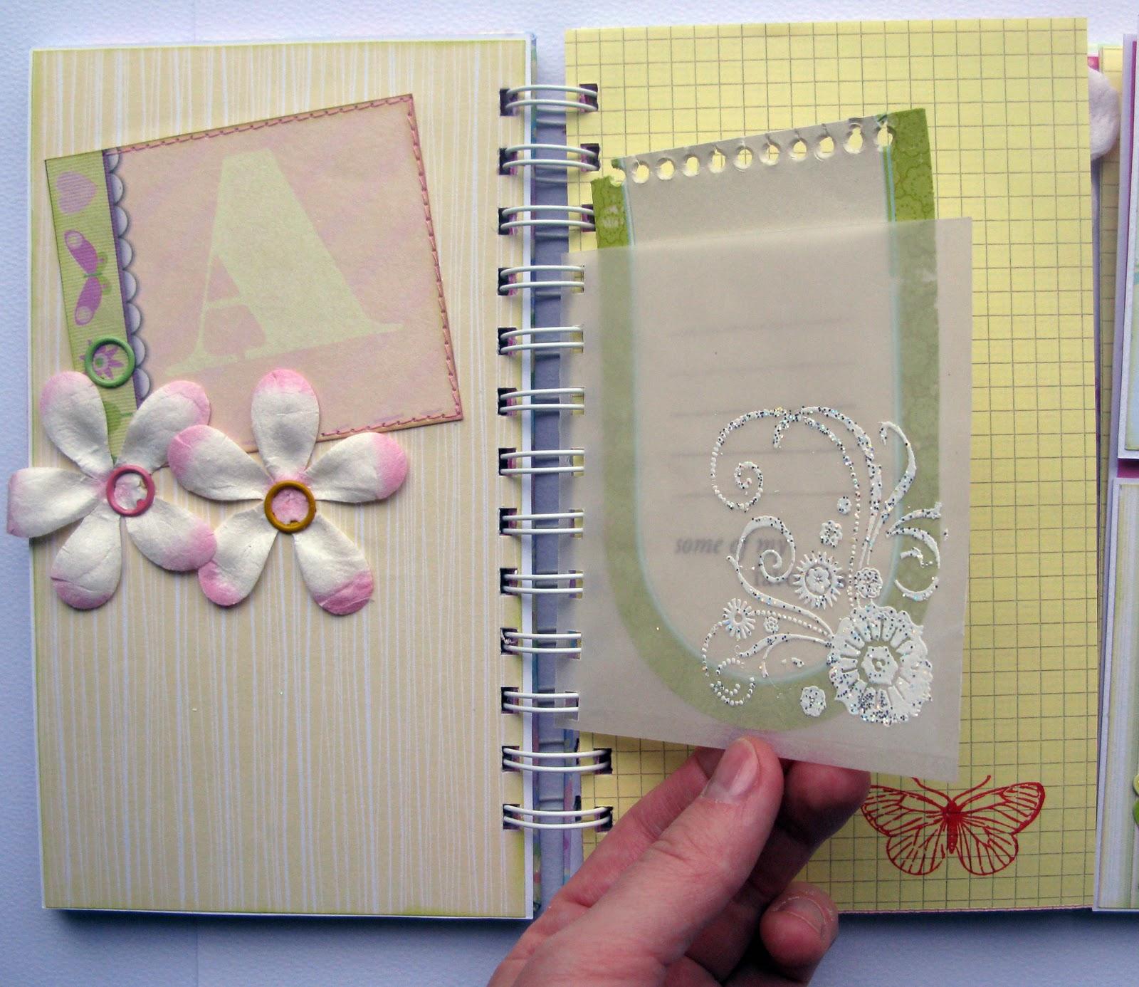 Личный дневник своими руками сделать несложно 7