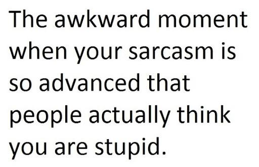 Sarcasm Level Advanced