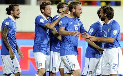 Prediksi Skor Italia vs Denmark 17 Oktober 2012
