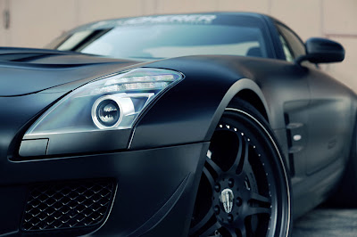 Mercedes SLS AMG GT, Supercharged, carros, black, sintonizadores,Mercedes SLS AMG GT Supercharged customizado