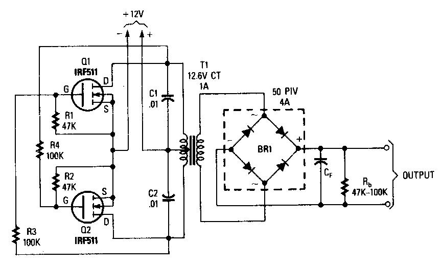best power mosfet inverter circuit diagram world of technology rh expertelab blogspot com High Power Inverter Circuit Diagram 1000 Watt Inverter Circuit Diagram