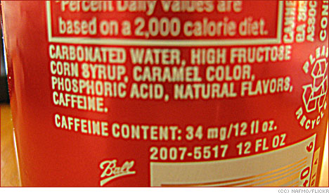 coke ingredients list