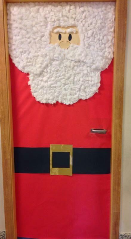 Papa noel para decorar decoracin dulce navidad stunning for Puertas decoradas santa claus