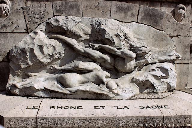 Lyon, France, Statue