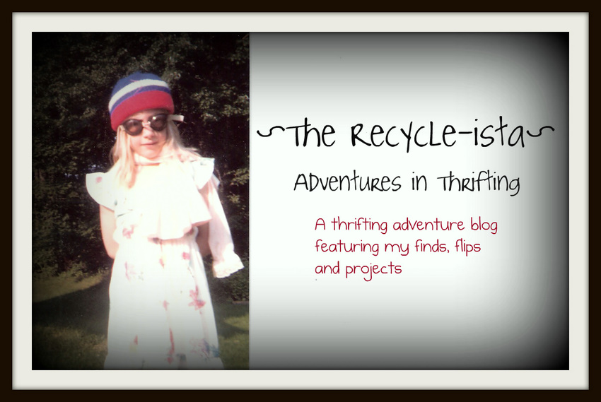 The Recycle-ista...Adventures in Thrifting