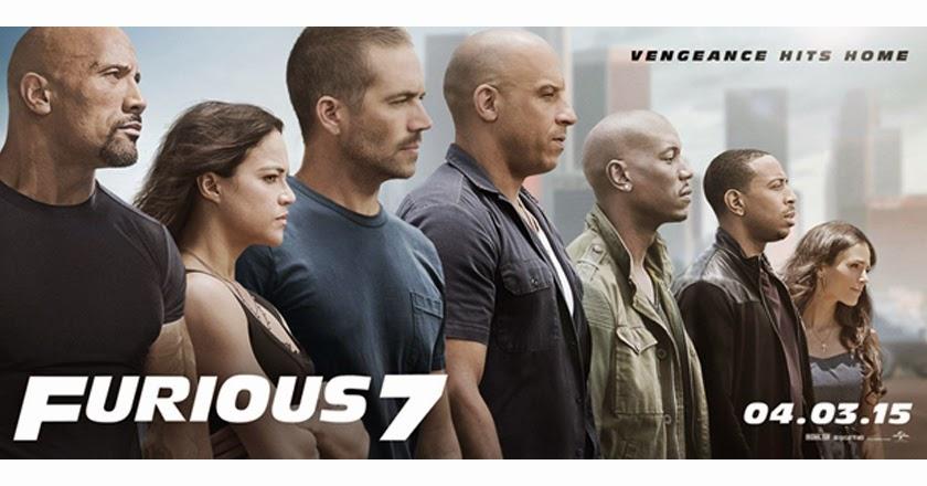 Furious 7 Catat Rekod Baru Kutipan Jualan Tiket Di China Rusia