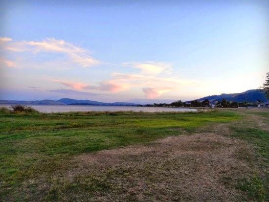 Lake Rotorua, New Zeland.
