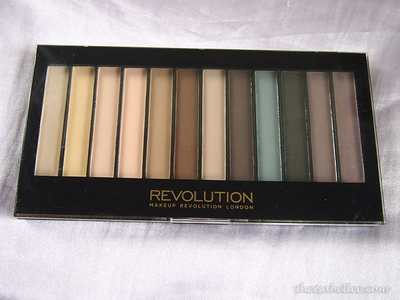Makeup Revolution Redemption Palette Essential Mattes