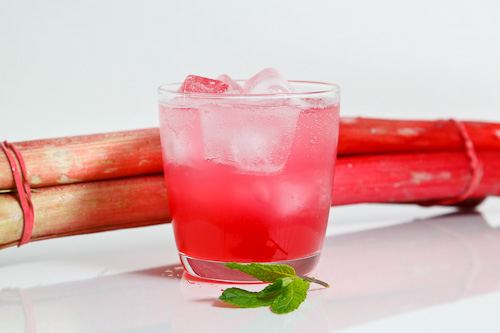 Rhubarb Soda on Closet Cooking