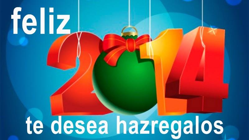 feliz año nuevo te desea hazregalos