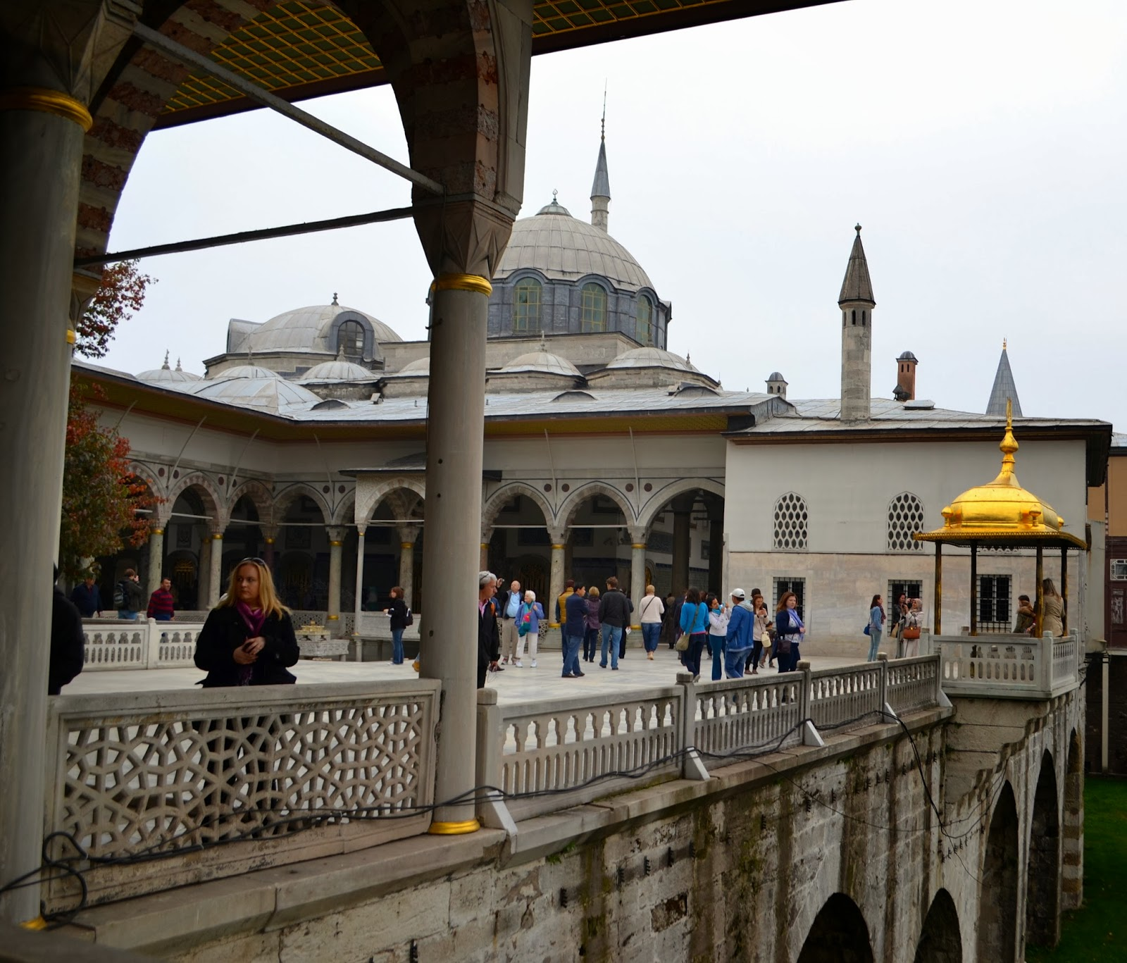 Eve 39 n song in london istanbul topkapi palace for The terrace hall