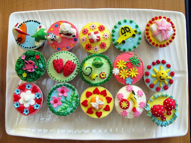 Cupcakes Decorating Ideas
