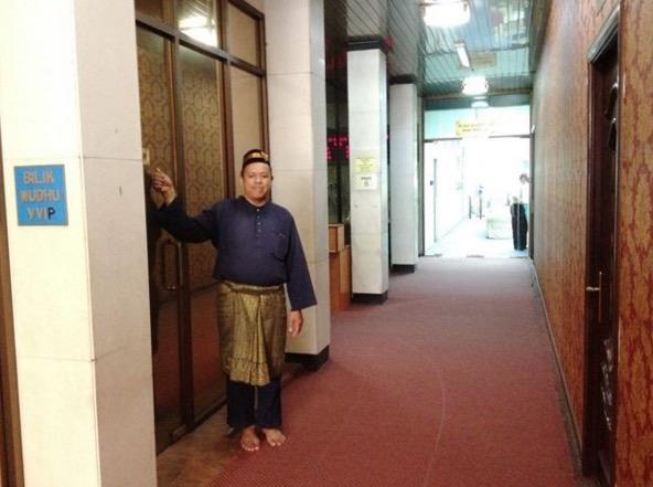Isu Bilik Wuduk VVIP, Ini Penjelasan Masjid Negara