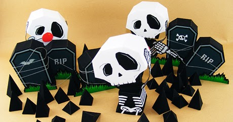 Ouch! My Heaaad Paper Toy