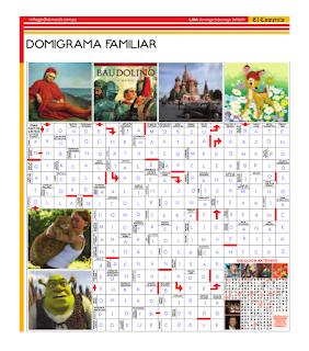 Solución del Dominigrama Familiar del domingo 8 de mayo del 2011