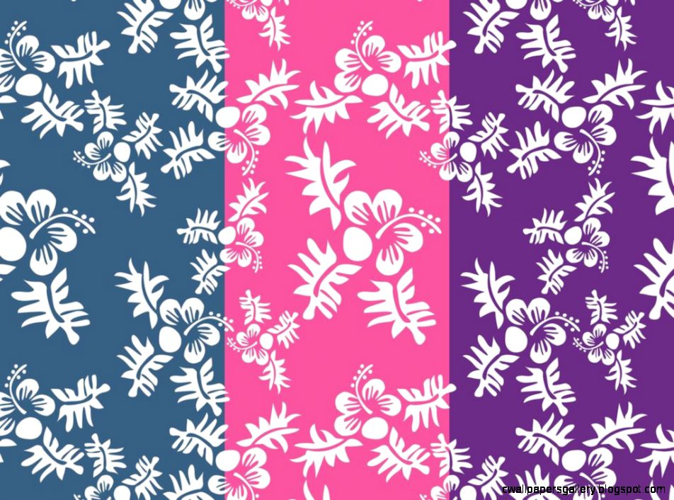 Hawaii Pattern Vector Art  Graphics