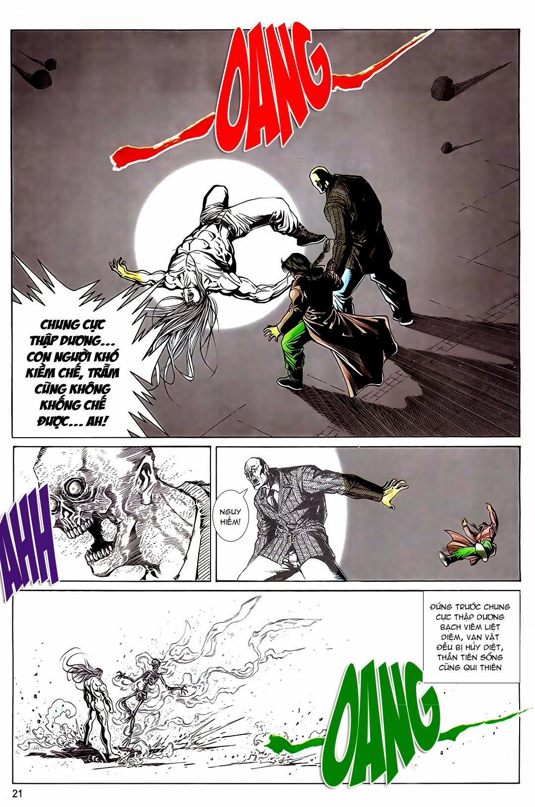 TruyenHay.Com - Ảnh 19 - Long Hổ Môn - Võ Công Đại Toàn Chap 3