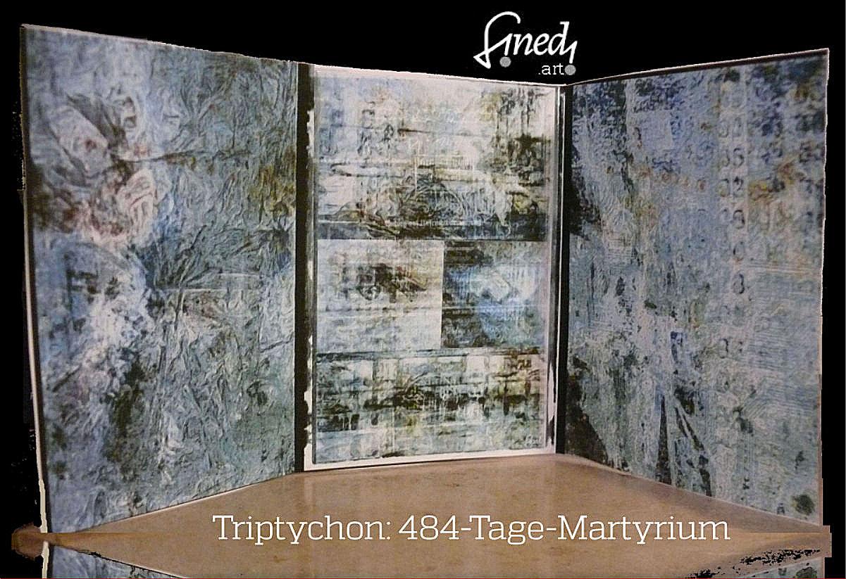Triptychon zum 484-Tage-Martyrium Erna Kronshages