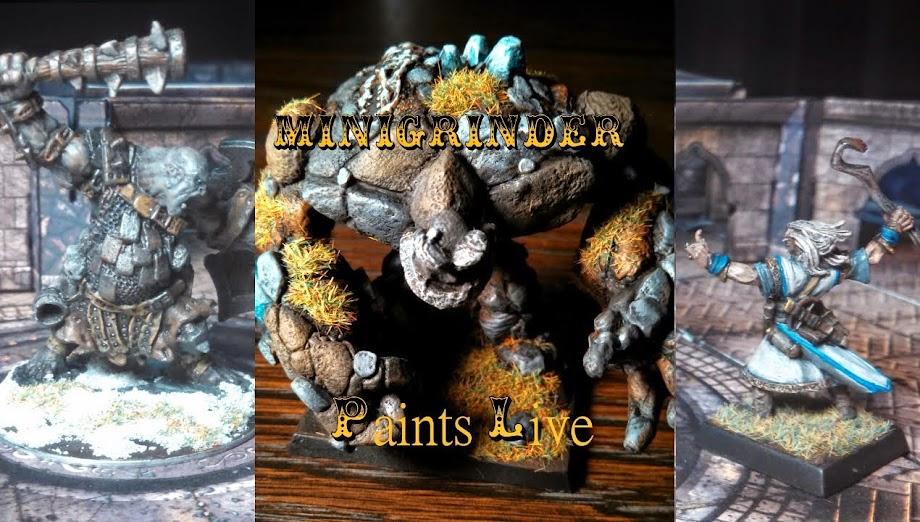 MiniGrinder Paints Live!