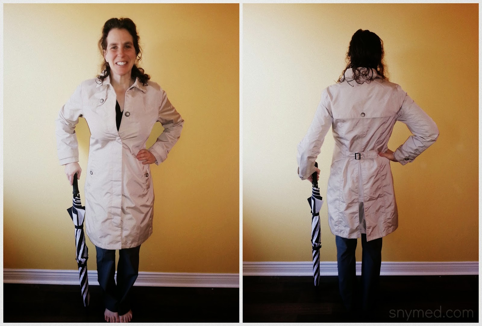 Eddie Bauer 2014 Spring & Summer Collection  A Review! ~ snymed # Sunshower Coat_021838