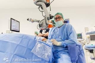Cirugía en directo Faco Elche