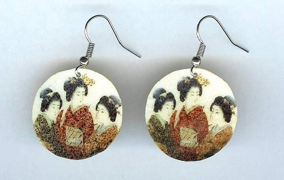 Japanese Women Earrings