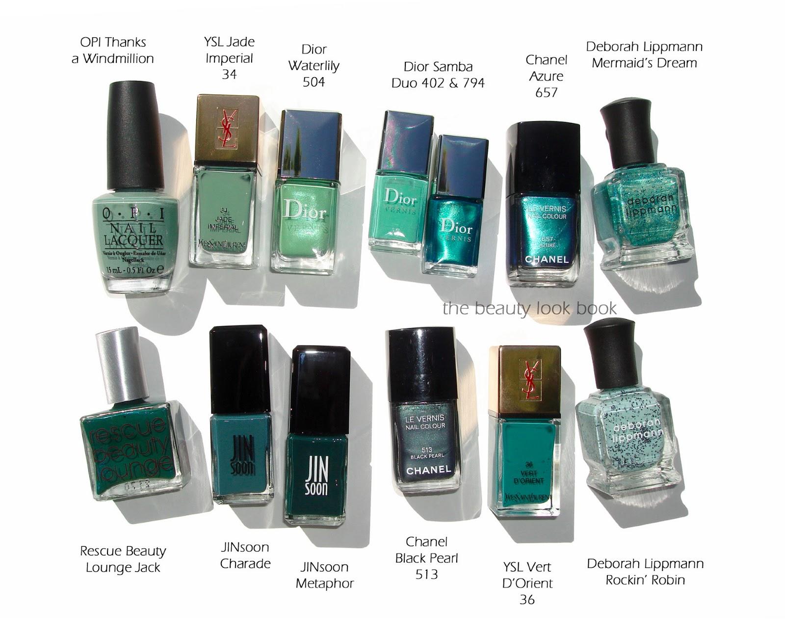 Color Focus: Emerald, Aqua, Green and Teal
