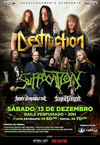 DESTRUCTION E SUFFOCATION