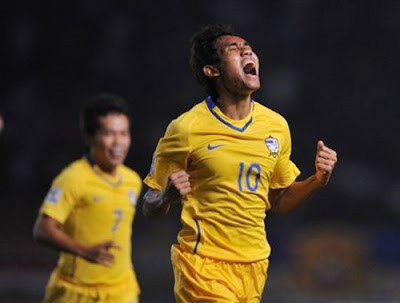 Teerasil Dangda : Thailand Football Team (2)