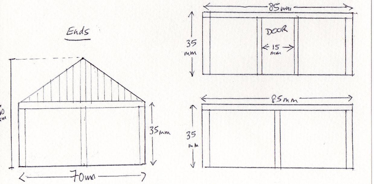 The Nothelm Chronicle Small Building Plan Drawing