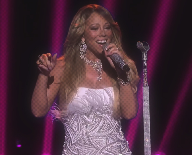 Mariah Carey singing At Idol