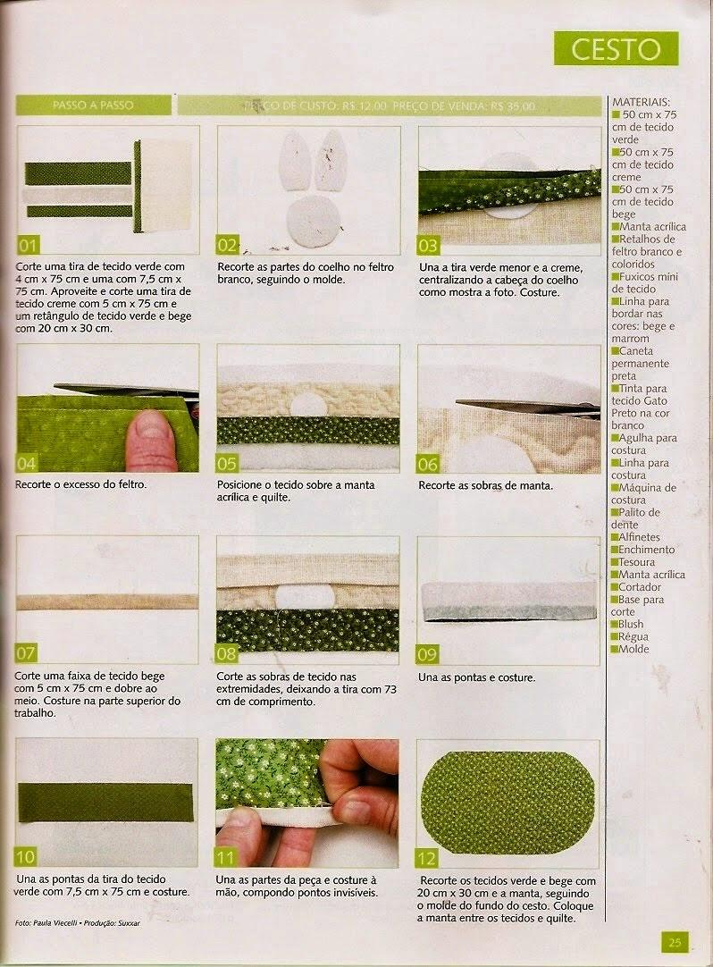 Moldes para patch aplique e patchwork de páscoa