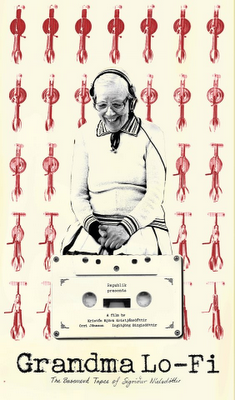 Cartel de la película Abuelita Lo-Fi.