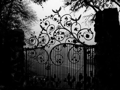 I Love Old Garden Gates ~. They Hold Many Secrets.