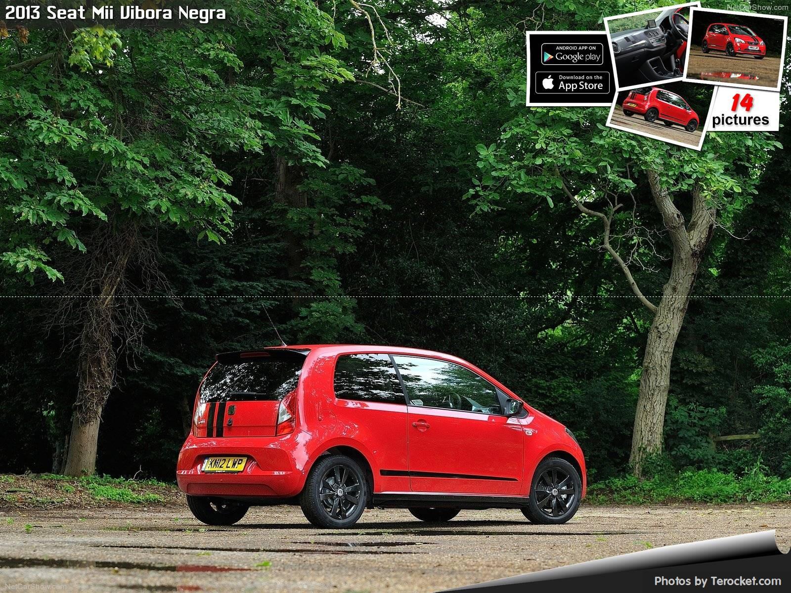 Hình ảnh xe ô tô Seat Mii Vibora Negra 2013 & nội ngoại thất