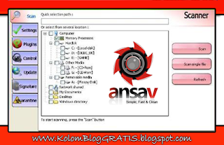 Update Ansav - Download Antivirus Terbaru 2012