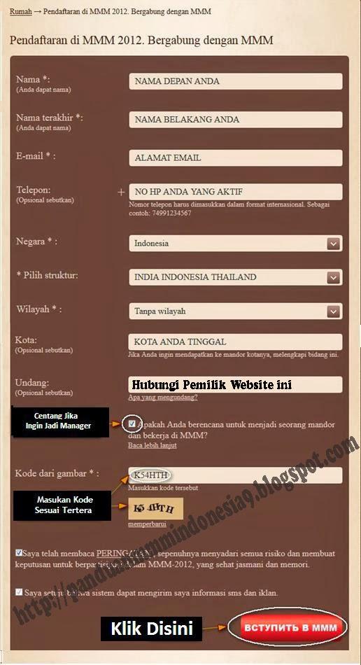 cara daftar mmm indonesia