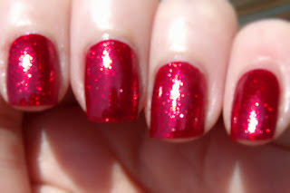 Kleancolor Bite Me-Metallic Red