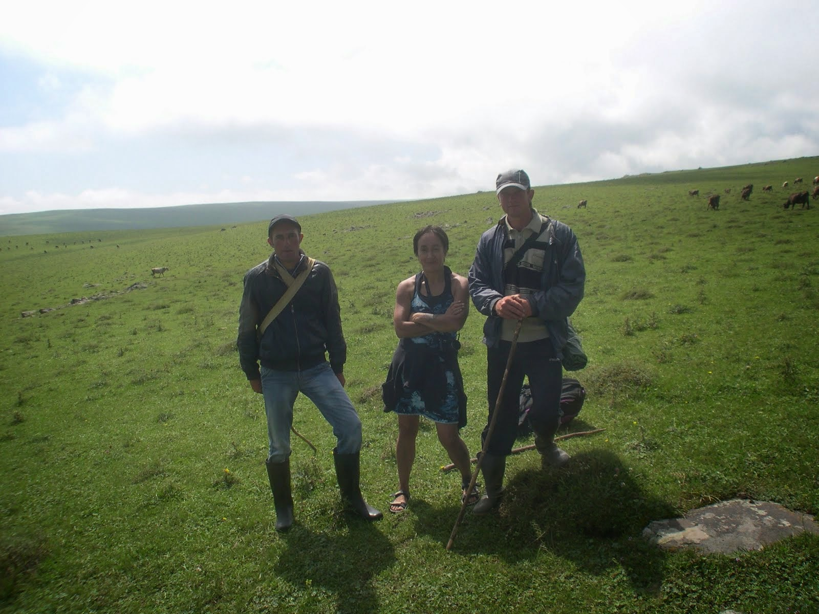 Tracking Romanian shepherds 2