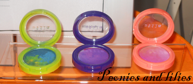 Stila festival of colour, Stila SS13, Stila countless color pigment eyeshadow