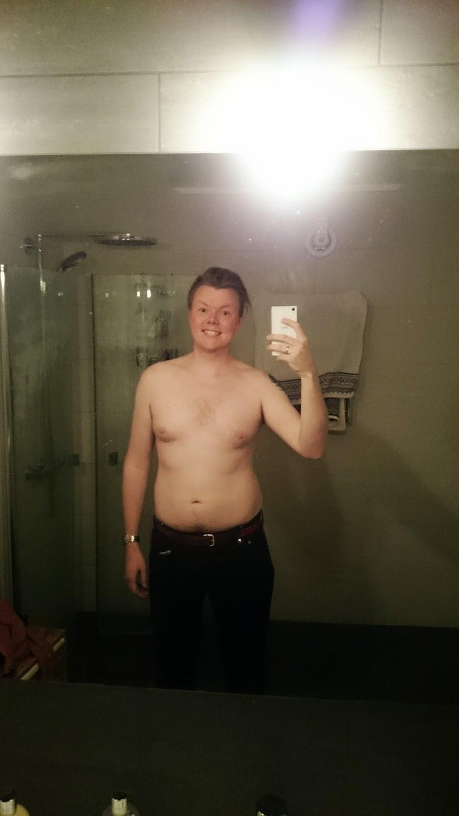 Franks slankeblogg: Resultat veke 35 - Framleis sjuk