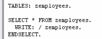 Select Loops in SAP ABAP