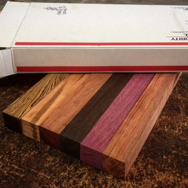 sweetlooking unique cutting boards. NEW Variety Turning Square Packs  Tropical Exotic Hardwoods November 2015