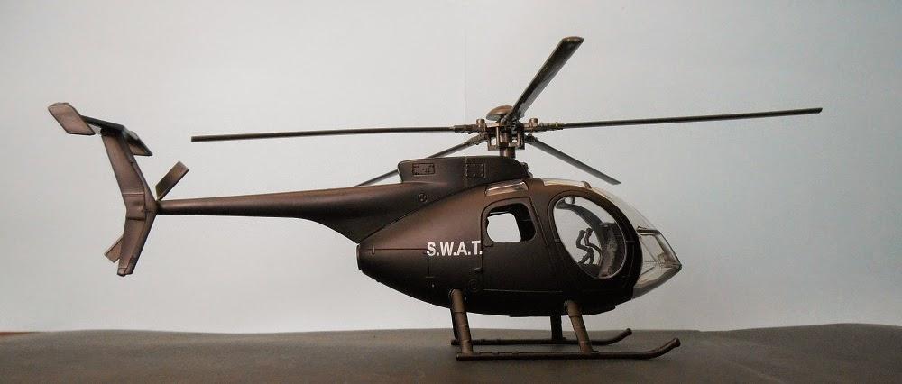 AgustaWestland NH-500 skypilot 1/32 scale