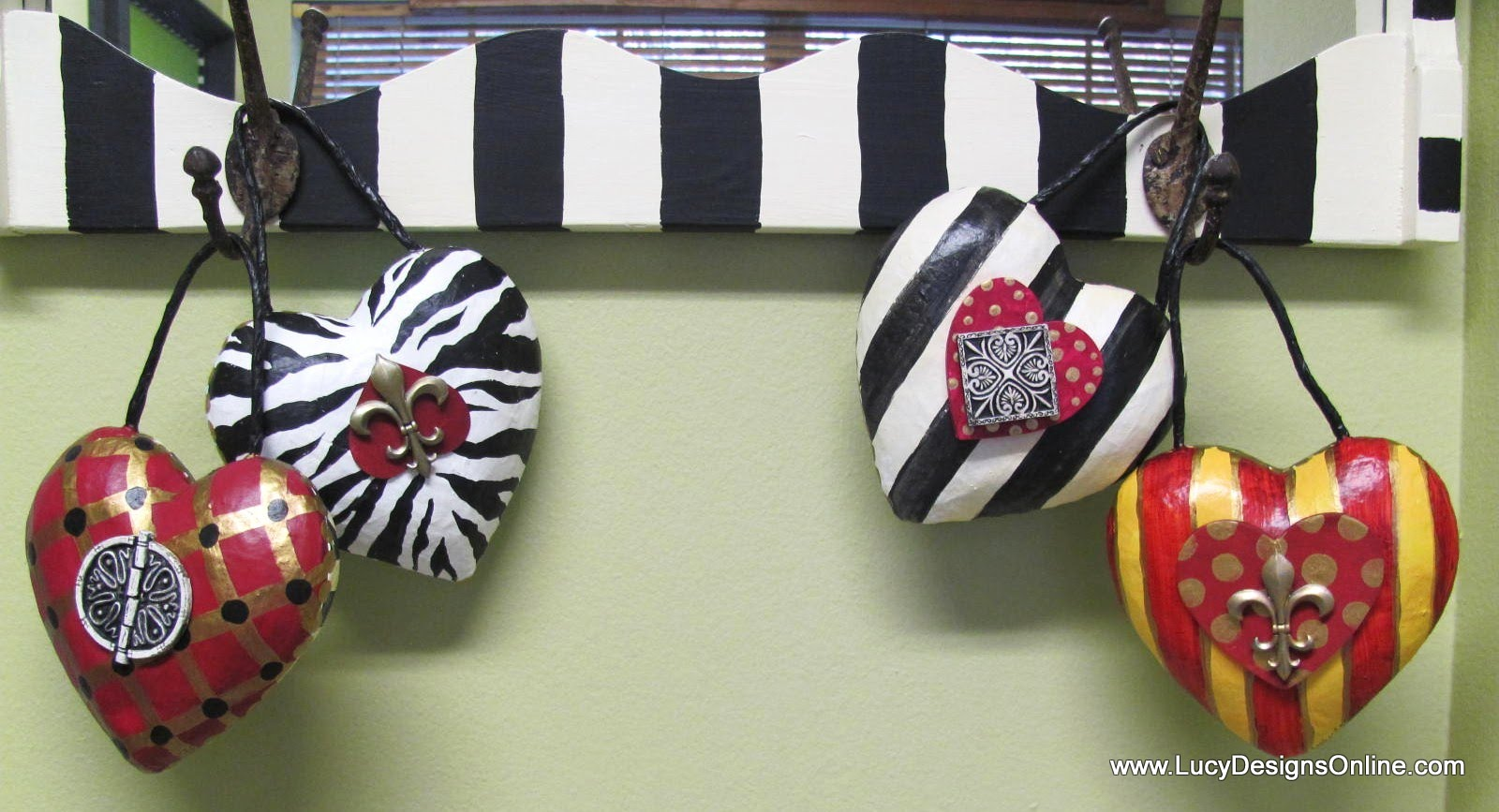 how to make a paper mache heart