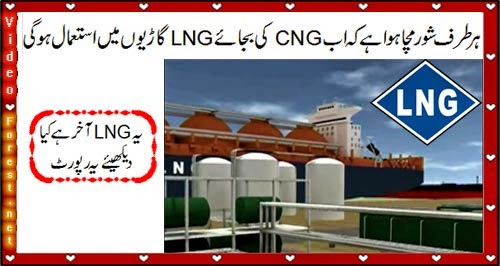 Pakistan import LNG from Qatar, What is LNG? Check this report